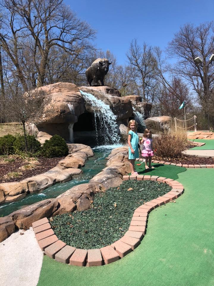 Bison Creek Mini Golf   Family Fun   Things To Do   Huikko's